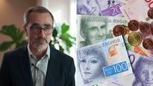 Tomas Björck, arbetsrättschef på SKR samt gernrebild på pengar