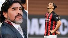 Maradona och Zlatan