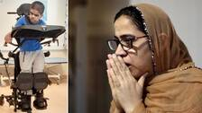 Zarjan Naseer förlorade sin 13-årige son Rohail efter att han hade fått covid-19. Sonen hade en allvarlig underliggande sjukdom.