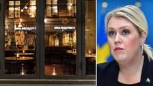 Restauranger ekar tomma kvällstid efter förbudet mot att servera alkohol efter klockan 20.