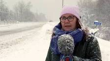 SVT Västernorrlands reporter på plats i Sundsvall.