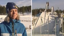 Ulrika Back-Eriksson, vd för Svenska Skidspelen och hopptornen på Lugnet i Falun.