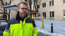 Henrik Sundqvist, enhetschef för underhållsdistrikt mitt.