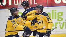 HV71 vann med 5-4 borta mot Djurgården.