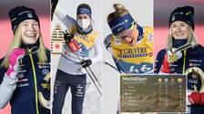 Sverige har tagit sex medaljer i årets Längd-VM.