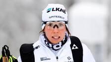 Charlotte Kalla tar inte någon OS-plats för givet.