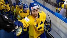 Adrian Kempe i Tre Kronor-dressen.