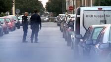 Halverad polisstyrka trots valdsvag