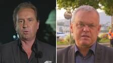 SVT:s korrespondenter Stefan Åsberg och Bert Sundström