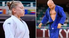 Både Anna Bernholm och Marcus Nyman åkte ut efter knappa förluster.