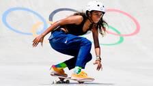 13-åriga Rayssa Leal tog silver i OS.