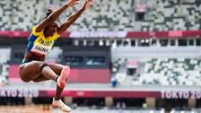 Khaddi Sagnia blev nia i OS-finalen.