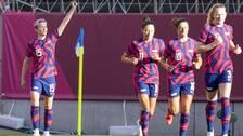Megan Rapinoe stod för två mål i bronsmatchen.