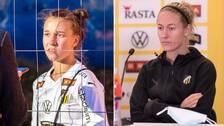 Julia Zigiotti Olme och Emma Kullberg.