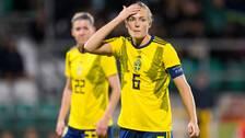 Magdalena Eriksson gjorde sin 78:e landskamp.