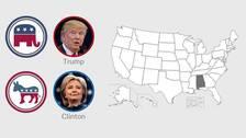 Karta, USA-valet