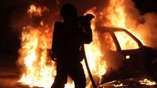Flera anlagda brander i uppsalastadsdelen gottsunda