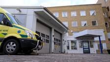 Akutmottagningen på Ljungby lasarett.