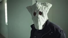 en maskerad man