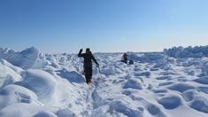 Tillsammans med två turkamrater åker den fd längdskidåkarstjärnan Vegard Ulvang till Kanada för att genomföra en resa i polarforskaren Roald Amundsens fotspår.