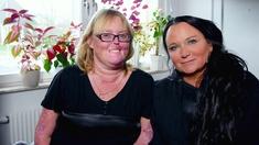 Programledare Anja Kontor tillsammans med Christina Pettersson.