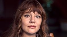 Christina Stenius i rollen som Lena Strid i Hem till byn.