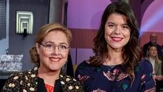 Emma Molin och Hanna Dorsin i På spåret.
