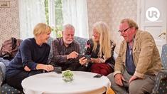 Kattis, Björn Hellberg, Ewa Fröling och Claes Malmberg.
