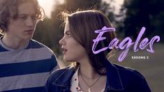 Ludvig (Adrian Öjvindsson) och Felicia (Alva Bratt) i Eagles säsong 2.