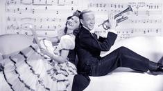 Ellen (Paulette Goddard) och Danny (Fred Astaire).