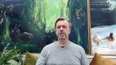 Ernst Billgren i karantän-tv.