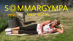 Sommargympa med Sofia.