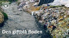 När vi låter fattiga länder tillverka våra kläder skapar det jobb och kanske välstånd där och våra egna vatten kan tillfriskna. Men i länder som Indien och Bangladesh får floderna betala ett högt pris för en textilindustri utan miljökrav på sig.