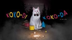 Ett par på tältsemester terroriseras av en varietéartist och hans skumraskfölje i filmen Koko-di koko-da.