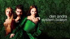 Mary Boleyn (Scarlett Johansson), kung Henrik VIII (Eric Bana) och Anne Boleyn (Natalie Portman).