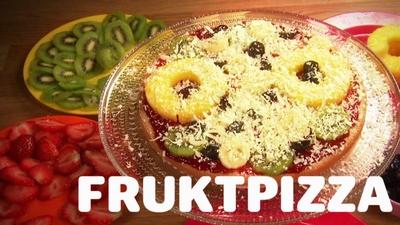 Fruktpizza