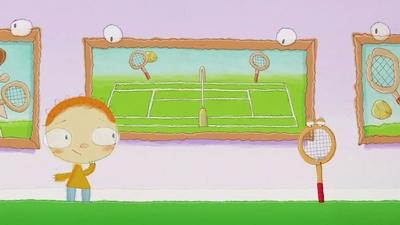 Ett tennisracket