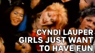 3. Cindy Lauper – Girls Just Want To Have Fun