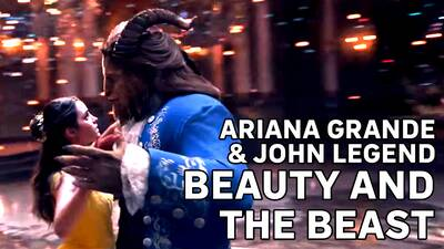 5. Ariana Grande - Beauty And The Beast