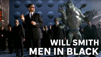2. Will Smith – Men In Black