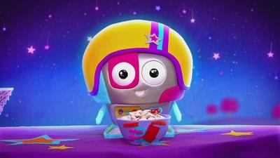 16. Fnitter-bot, den supertrötta månroboten