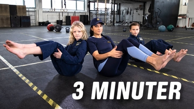 3 minuter