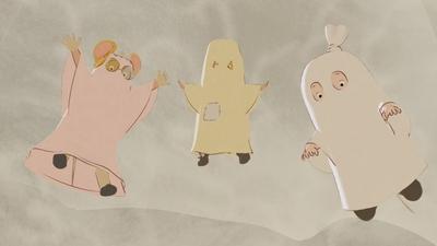 De små spökena
