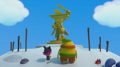 Rädda Pirat-Unos staty!