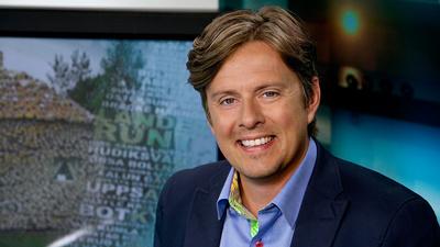 Henrik Kruusval, programledare för Landet runt.