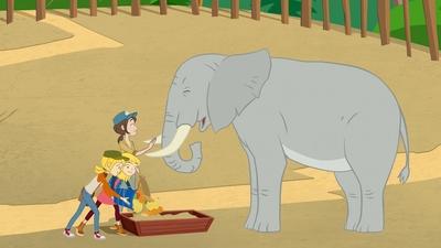 Elefanten Savannah