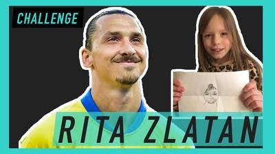 Kan du måla av Zlatan?