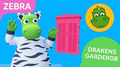 Drakens garderob: Draken blir en zebra