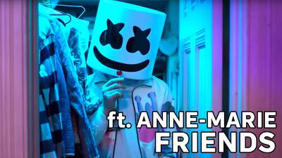 2. Marshmello ft. Anne-Marie - Friends