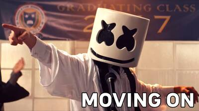 4. Marshmello - Moving On
